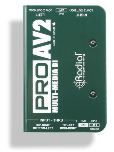 Radial PRO-AV2 Multimedia DI