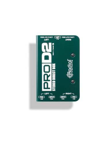 Radial PRO-D2 Passive DI Box