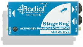 Radial SB-1 Acoustic Stagebug DI Box