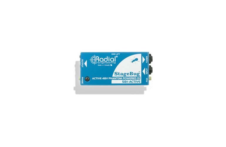 Radial SB-1 Acoustic Stagebug DI Box