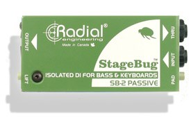 Radial SB-2 Bass Stagebug Keyboard DI Box
