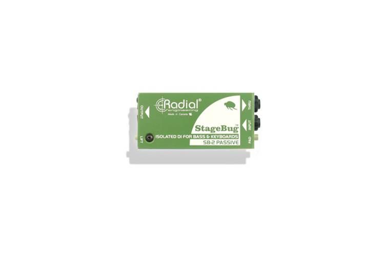 Radial SB-2 Bass Stagebug Keyboard DI Box