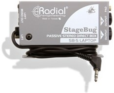 Radial SB-5 Laptop Stagebug DI
