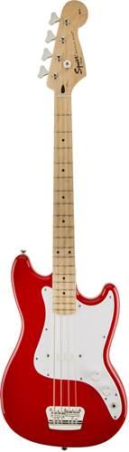 Squier Bronco Bass MN Torino Red