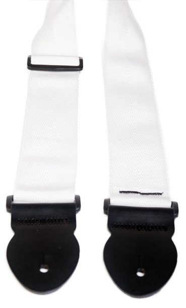 Leathergraft Webbing Strap White 000167