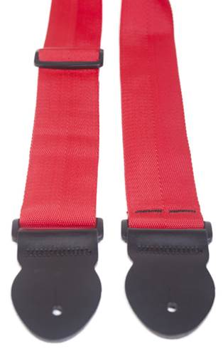 Leathergraft Webbing Strap Red 000102