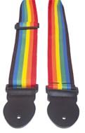 Leathergraft Webbing Strap Rainbow 000103