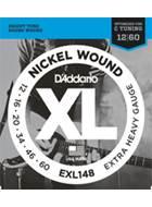 D'Addario EXL148 Extra Heavy .012-.060