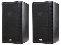 QSC K10 Active PA Speakers (Pair)