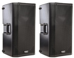 QSC K12 Active PA Speakers (Pair)