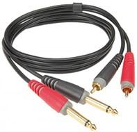 Klotz AT-CJ0300 2 x 1/4 inchJack to 2 x Phono 3m