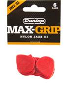 Dunlop 471P3N Nylon Max Grip Jazz III Nylon 6/Play Pack