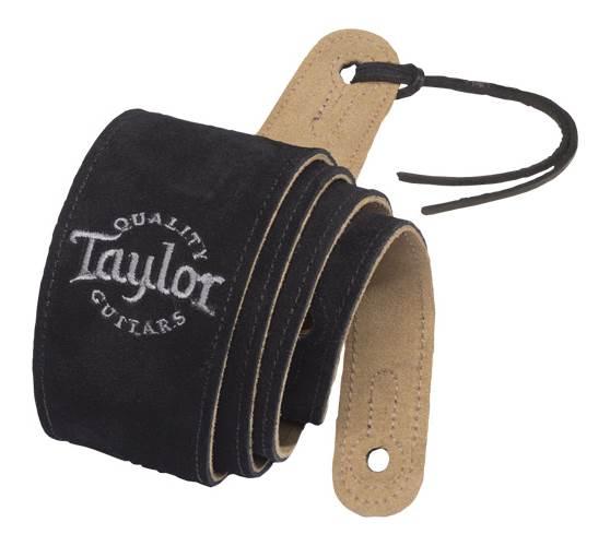 Taylor Black Suede Strap