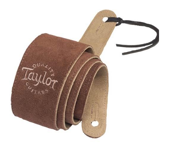 Taylor Chocolate Suede Strap