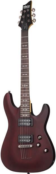 Schecter Omen-6 Walnut Satin