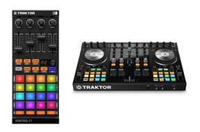 Native Instruments Traktor Kontrol F1 and Kontrol S4 MKII Bundle