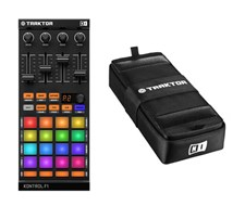 Native Instruments Traktor Kontrol F1 DJ Controller and Bag Bundle