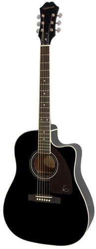Epiphone AJ-220SCE Electro Acoustic Black