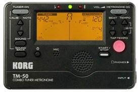 Korg TM50-BK Digital Tuner Metronome Black