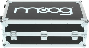 Moog Molded ATA Road Case w/ handle, wheels and Moog logo