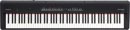 Roland FP-50 BK Digital Piano Front View