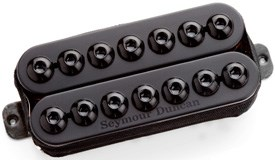 Seymour Duncan 7 String Invader Bridge PMT Black