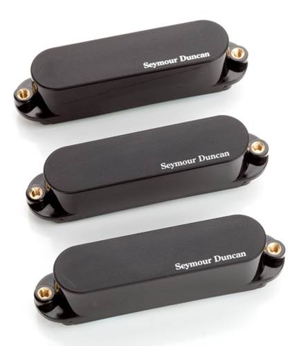 Seymour Duncan AS-1S Blackouts Hot Strat Set Black