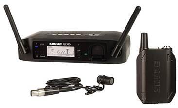 Shure GLXD14UK/85 Digital WL185 Presenter System