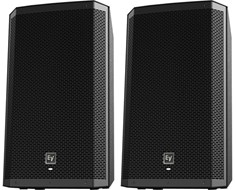 Electro Voice ZLX12P Powered Speaker (Pair) with FREE Speaker Covers
