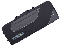 Fusion 19F322 49-61 Key Keyboard Bag with Wheels