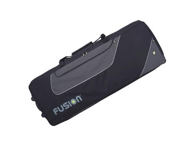 Fusion 19F322 49-61 Key Keyboard Bag with Wheels