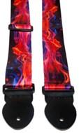 Leathergraft Flame Print Strap (XL) 000105