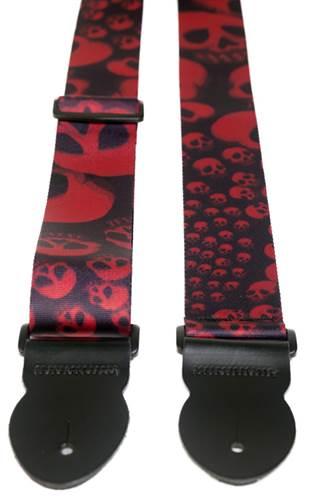 Leathergraft Red Skull Print (XL)