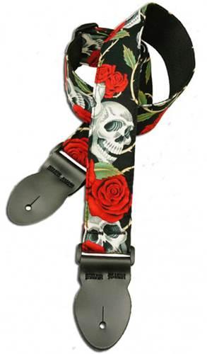 Leathergraft Rose Skull Print (XL) 000107