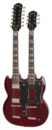 Epiphone Limited Edition G-1275 Double Neck Cherry