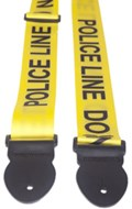 Leathergraft Police Line Print Yellow Backing (XL) 000500