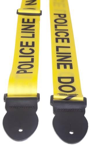 Leathergraft Police Line Print Yellow Backing (XL) 000500