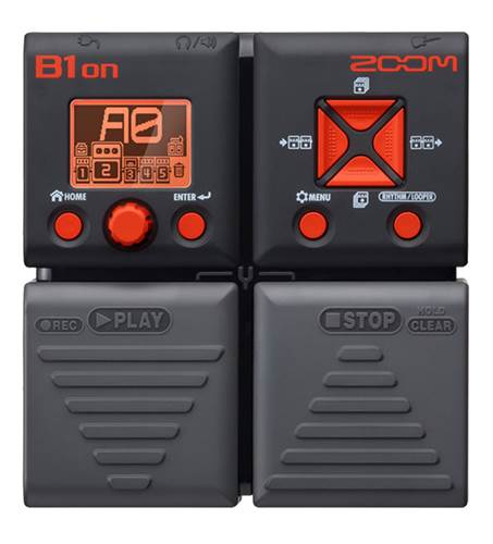 Zoom B1on Bass Multi-FX Pedal