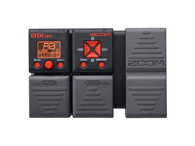 Zoom B1Xon Bass Multi-FX Pedal