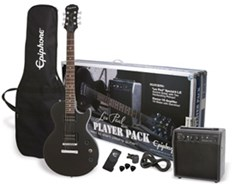 Epiphone Les Paul Ebony Player Pack