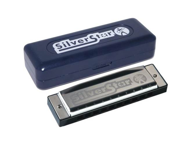 Hohner Silver Star Harmonica D