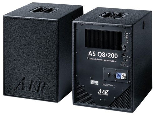 AER ASQ8 Active 200w PA Cabs