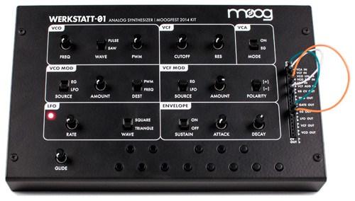 Buy the Moog Werkstatt-01 Analog Synth