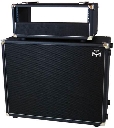 mission engineering gemini 2 amplified 2x12 with gemini h 19 4u rack enclosure 12 inch. Black Bedroom Furniture Sets. Home Design Ideas