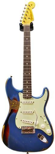 Fender Custom Shop 1960's Strat Heavy Relic Lake Placid Blue over Sunburst #R78415