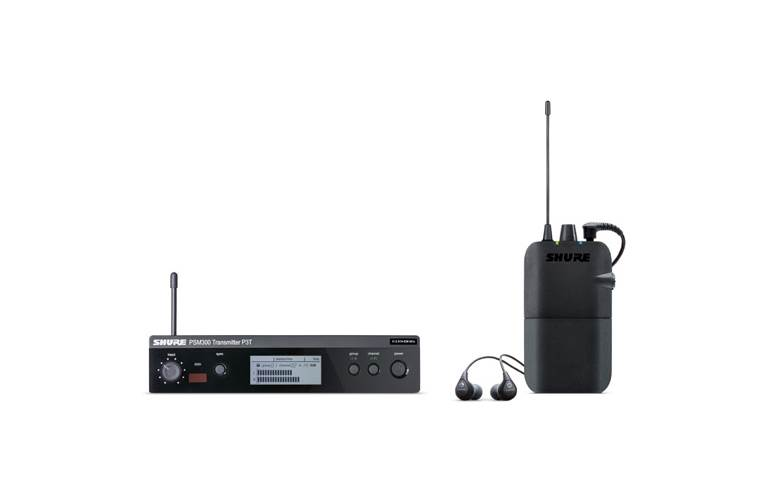 Shure PSM300 IEM System With SE112 Earphones