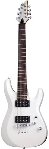 Schecter C-7 Deluxe Satin White