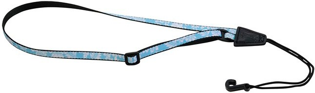 Levy's MP22-002 Ukulele Strap With Sound Hole Hook Hawaii Blue