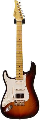 Suhr Classic Pro 3 Tone Sunburst HSS MN LH