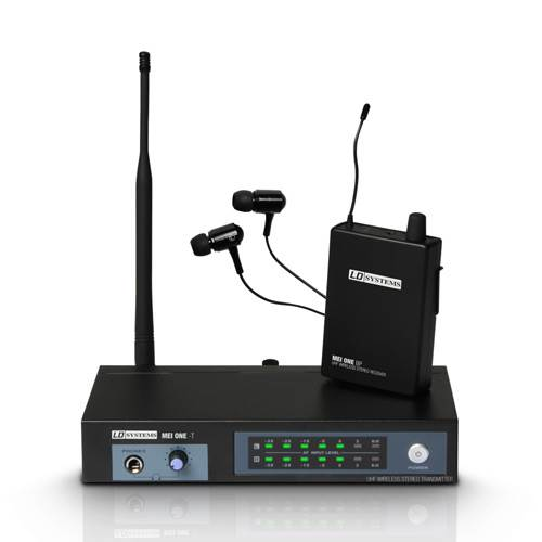 LD Systems MEI One 1 In-Ear Monitoring Wireless System 863.700MHz